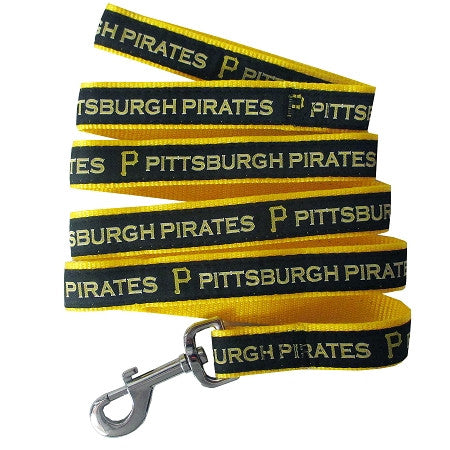 Pittsburgh PIRATES   MLB Nylon Leash - Daisey's Doggie Chic