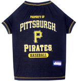 Pittsburgh PIRATES  MLB Tee Shirt - Daisey's Doggie Chic