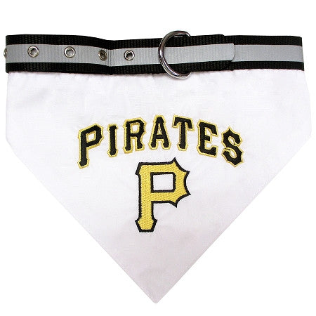Pittsburgh PIRATES  MLB Bandana Collar - Daisey's Doggie Chic