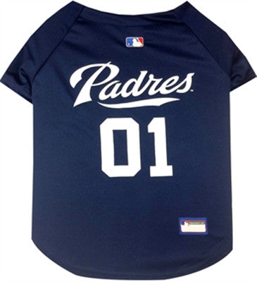 San Diego PADRES  MLB Jersey - Daisey's Doggie Chic - 1