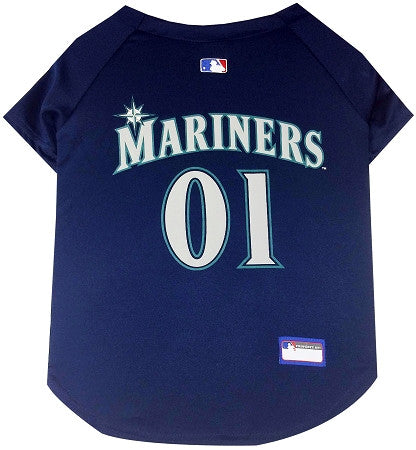 Seattle MARINERS  MLB Jersey - Daisey's Doggie Chic