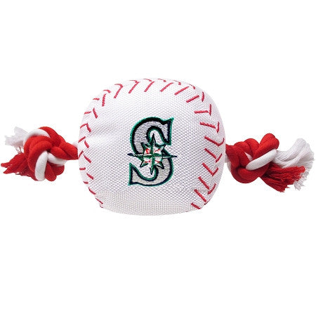 Seattle MARINERS  MLB Baseball Tug'n Chew Toy - Daisey's Doggie Chic