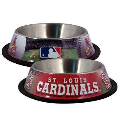 St. Louis CARDINALS  MLB 32 oz. Water Bowl - Daisey's Doggie Chic