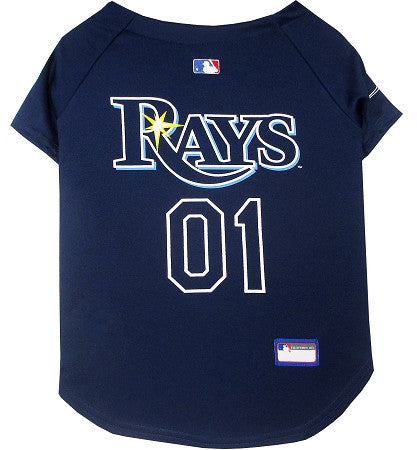 Tampa Bay RAYS   MLB Jersey - Daisey's Doggie Chic