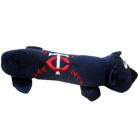 Minnesota TWINS  MLB Plush Tube Squeaker Toy - Daisey's Doggie Chic