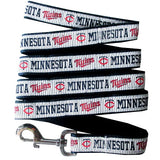 Minnesota TWINS   MLB Nylon Leash - Daisey's Doggie Chic
