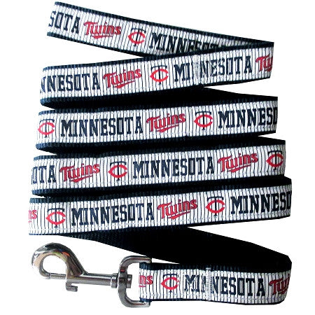 Minnesota TWINS   MLB Nylon Leash - Daisey's Doggie Chic - 1