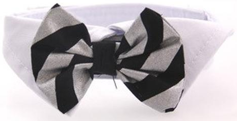 f081ef7783b5 ... Satin Bow Tie and Dress-up Collar Bundled Set Comes with 4 Holiday Bow  Ties