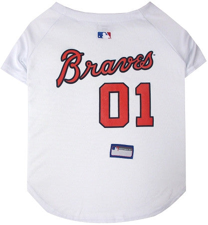 Atlanta BRAVES MLB Jersey - Daisey's Doggie Chic