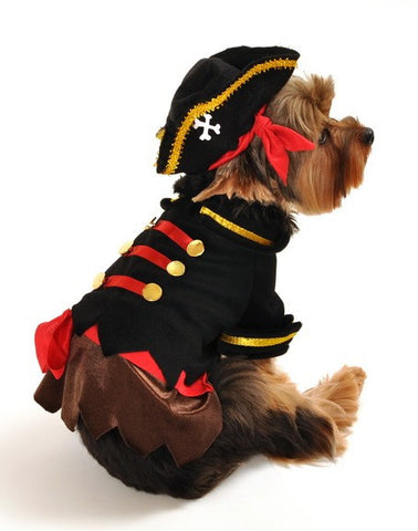 """Buccaneer Pirate Captain"" Dog - Daisey's Doggie Chic - 1"