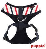 "Puppia ""Capitane"" Nautical Choke-Free Halter Harness with Smart Tag- in 2 Colors - Daisey's Doggie Chic"