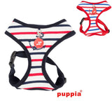 "Puppia ""Capitane"" Nautical Choke-Free Halter Harness with Smart Tag- in 2 Colors - Daisey's Doggie Chic - 1"