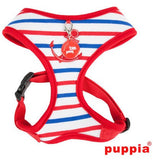 "Puppia ""Capitane"" Red Choke-Free Halter Harness with Smart Tag - Daisey's Doggie Chic - 1"
