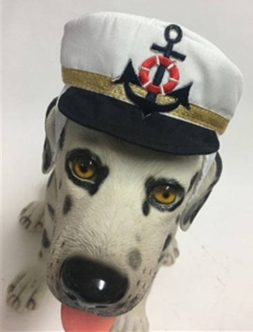 Captain Deluxe Yachting Cap for Dogs - Daisey's Doggie Chic