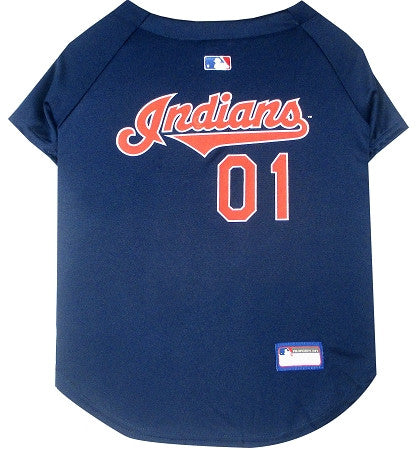 Cleveland INDIANS  MLB Jersey - Daisey's Doggie Chic