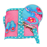"""Under The Sea"" Flip Flop Cool Mesh Harness Vest and matching Leash Set - Daisey's Doggie Chic - 2"