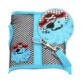 """Under The Sea"" Octopus Pirate Cool Mesh Harness Vest and matching Leash Set - Daisey's Doggie Chic"