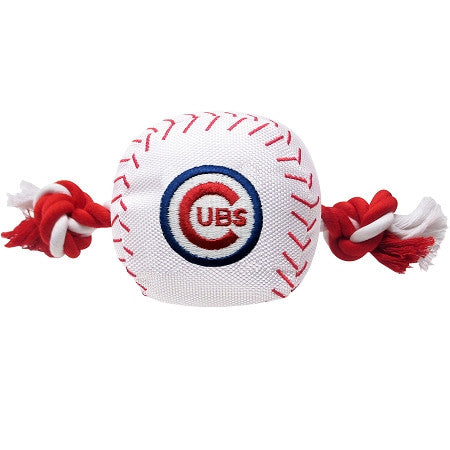 Chicago CUBS  MLB Baseball Tug'n Chew Toy - Daisey's Doggie Chic - 1