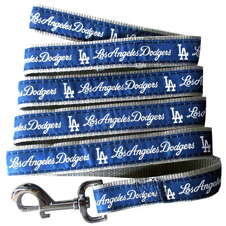 LA DODGERS   MLB Nylon Leash - Daisey's Doggie Chic - 1