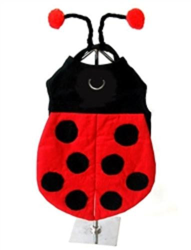 """Winged Ladybug"" Dog Costume - Daisey's Doggie Chic"