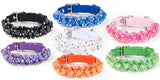 Scrumptiously ''Fabuleash'' Bling Beaded Fireball Collars in 7 colors - Daisey's Doggie Chic - 1