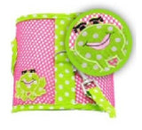"""Under The Sea"" Froggie Cool Mesh Harness Vest and matching Leash Set - Daisey's Doggie Chic - 2"