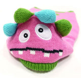 Cute Pink Monster Themed Hoodie Sweater - Daisey's Doggie Chic