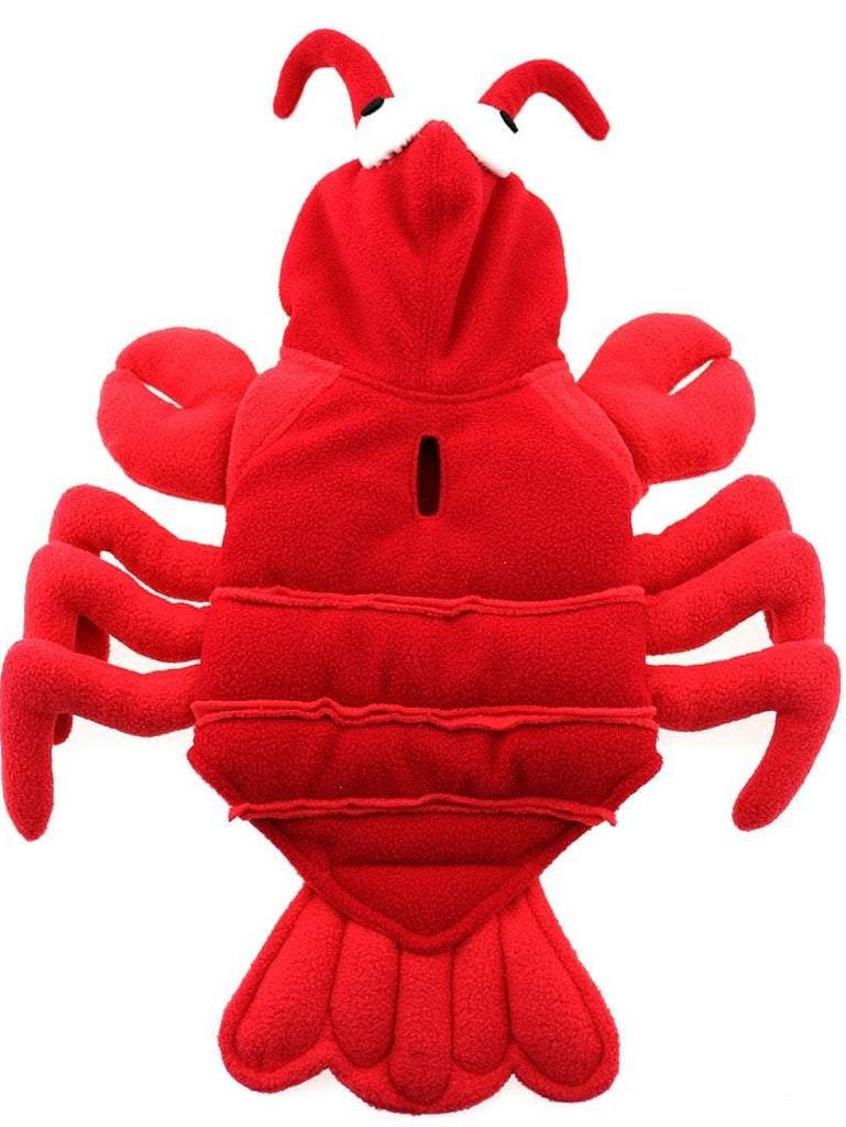 Plush Red Lobster Costume for Dogs - Daisey's Doggie Chic