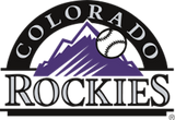 Colorado ROCKIES  MLB Baseball Bat Squeaker Toy - Daisey's Doggie Chic