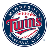 Minnesota TWINS  MLB Baseball Bat Squeaker Toy - Daisey's Doggie Chic