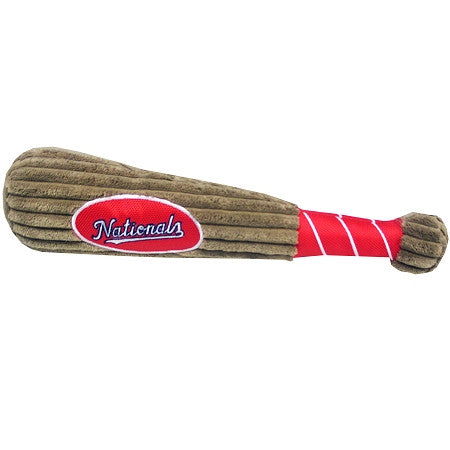 Washington NATIONALS  MLB Baseball Bat Squeaker Toy - Daisey's Doggie Chic