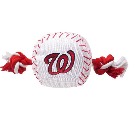 Washington NATIONALS  MLB Baseball Tug'n Chew Toy - Daisey's Doggie Chic