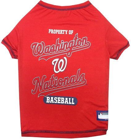 Washington NATIONALS  MLB Tee Shirt - Daisey's Doggie Chic