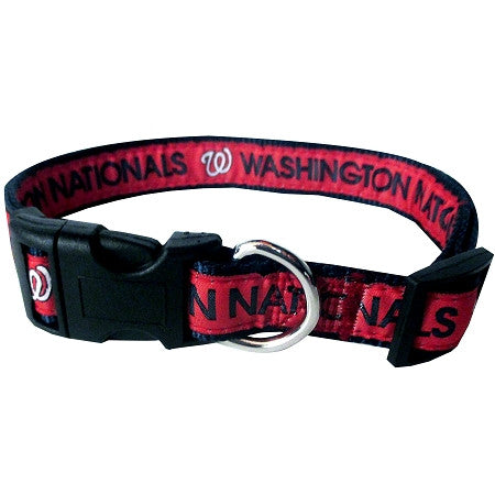 Washington NATIONALS  MLB Nylon Collar - Daisey's Doggie Chic