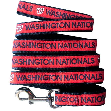 Washington NATIONALS   MLB Nylon Leash - Daisey's Doggie Chic