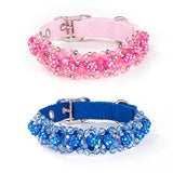 Scrumptiously ''Fabuleash'' Bling Beaded Fireball Collars in 7 colors - Daisey's Doggie Chic