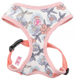 Botanical Garden Fresh Floral Foliage Choke-Free Halter Harness in 4 Color Patterns - Daisey's Doggie Chic