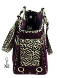 Punky Skully Pet Flys Designer Carrier Tote And Charm - Daisey's Doggie Chic