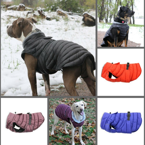 Quilted Puffer Jacket Vest available in 4 Colors - Daisey's Doggie Chic