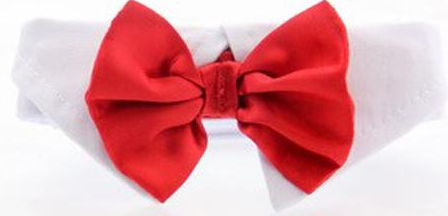 1ac7c201e6cb ... Satin Bow Tie and Dress-up Collar Bundled Set Comes with 4 Holiday Bow  Ties ...