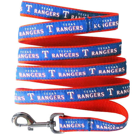 Texas RANGERS   MLB Nylon Leash - Daisey's Doggie Chic