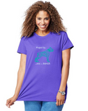 Boxer Dog Pet Themed Crewneck T-Shirt – Wrapped up With a Boxer  logo - Adult (Unisex) Sizes S,M,L,XL,2XL in 19 colors - Daisey's Doggie Chic