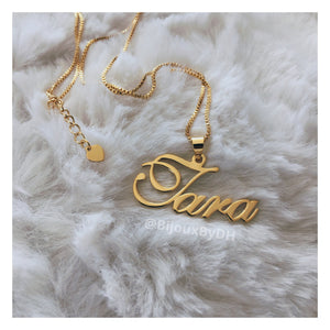 Name Necklace w/ Bail