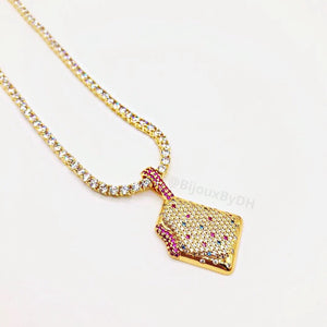 Poptart Necklace