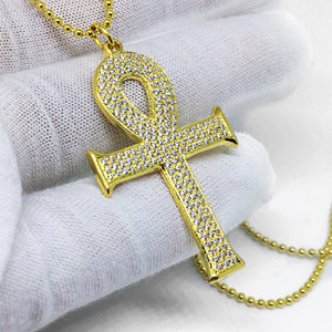 Diamond Ankh-Cross