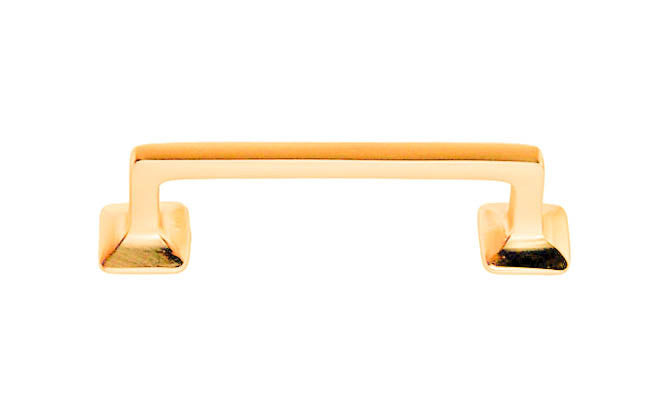 Mission-Style Solid Brass Handle ~ 3
