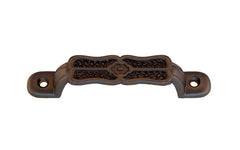"Eastlake-Style Handle ~ 3-1/8"" On Centers ~ Oil Rubbed Bronze Finish"