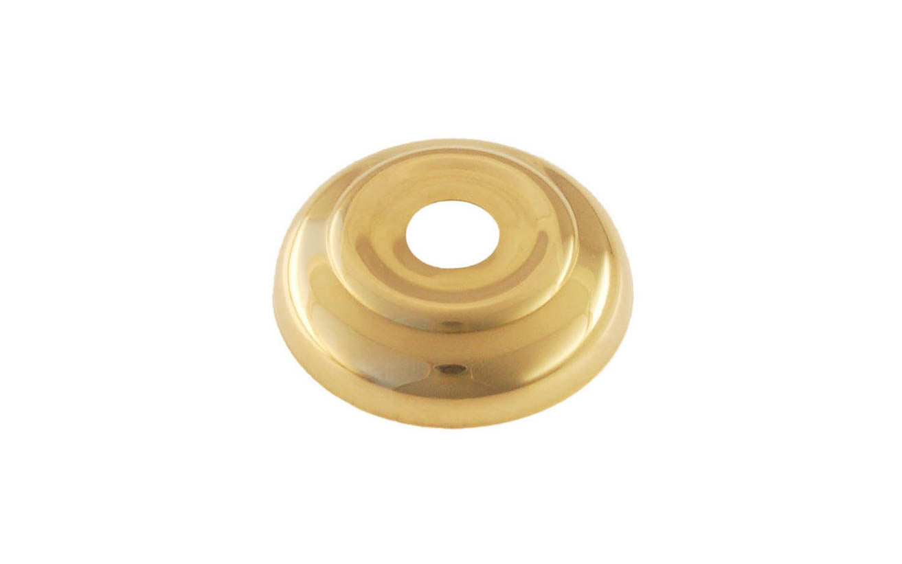 Brass Ball Finial Base ~ 1-3/4