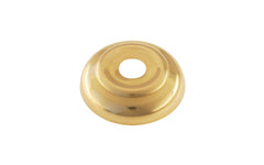 "Brass Ball Finial Base ~ 1-3/4"" Diameter ~ Non-Lacquered Brass (will patina over time)"