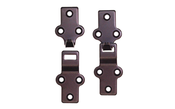 Heavy Duty Storm Window & Screen Hangers ~ Satin Black Finish